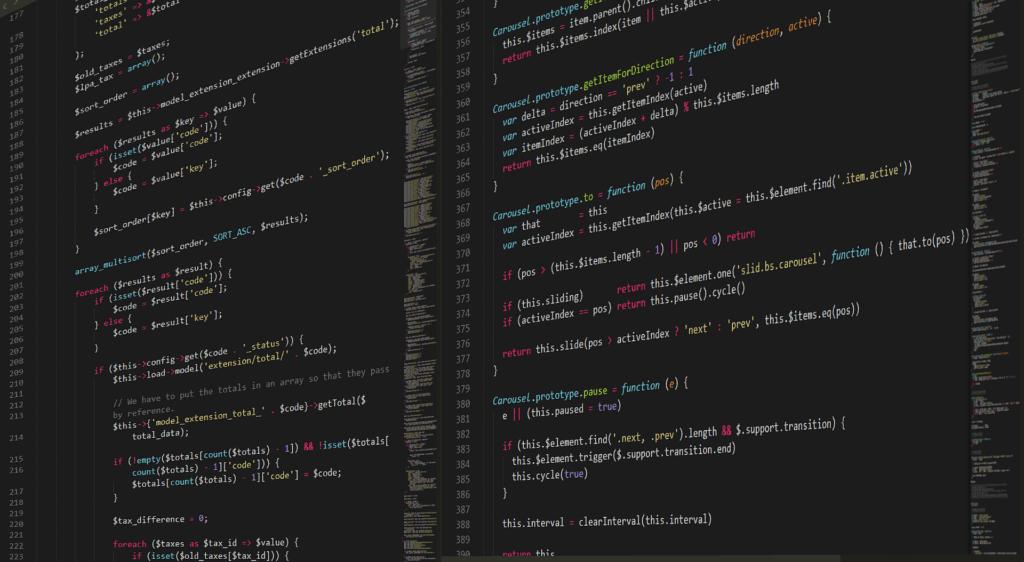 Website programmieren - Welche Sprache auf blog-kade.de